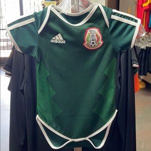 Mexico Toddler baby infant Jersey Adidas Soccer